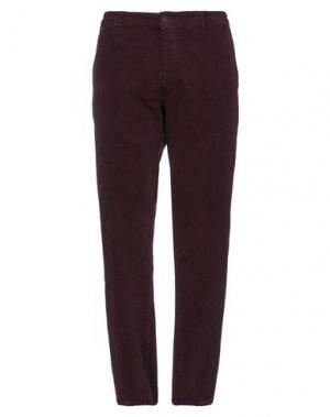 Повседневные брюки ARMATA DI MARE. Цвет: красно-коричневый