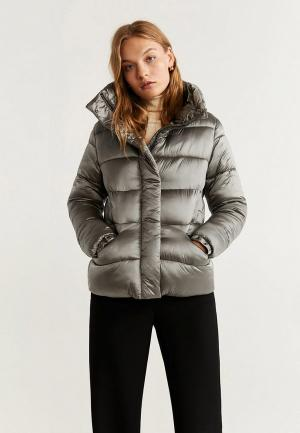 Куртка утепленная Mango - OTAWA. Цвет: серый