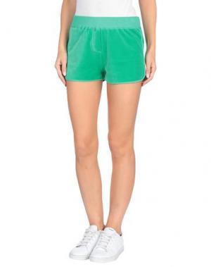 Повседневные шорты VDP CLUB. Цвет: зеленый