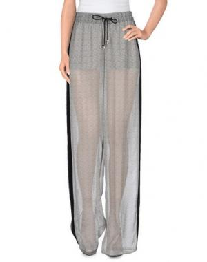 Повседневные брюки GRINKO. Цвет: серый