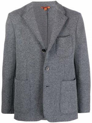 Однобортный пиджак Barena. Цвет: серый