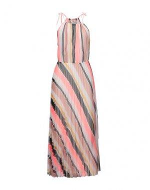 Длинное платье B.YU. Цвет: белый