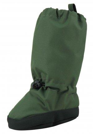 Пинетки Antura Зеленые Reima. Цвет: зеленый