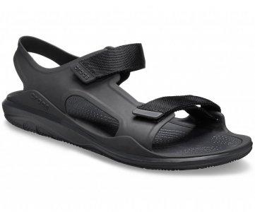 Сандалии мужские CROCS Mens Swiftwater™ Expedition Sandal Black/Black арт. 206526. Цвет: black/black