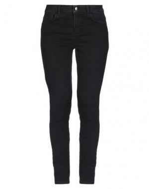 Джинсовые брюки FIVEUNITS. Цвет: черный