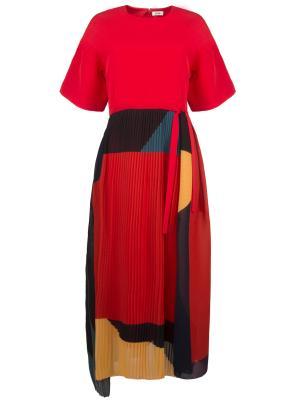 Платье ISSA London. Цвет: разноцветный