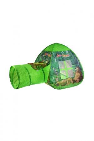 Палатка Играем вместе. Цвет: зеленый