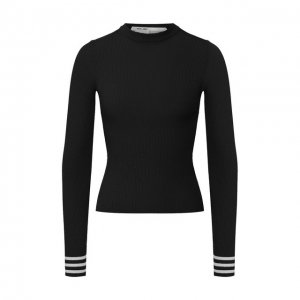 Пуловер из вискозы Off-White. Цвет: чёрный