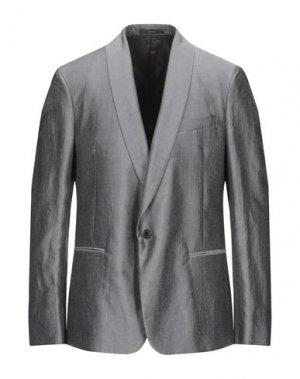 Пиджак PAUL SMITH. Цвет: серый