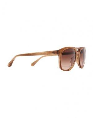 Солнечные очки DUNHILL. Цвет: верблюжий