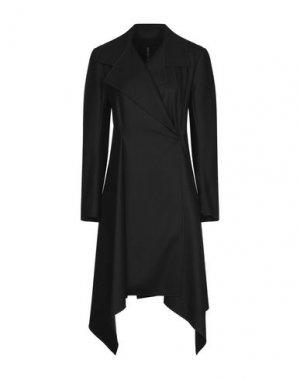 Пальто PLEIN SUD. Цвет: черный