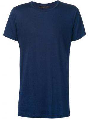 Футболки и жилеты John Elliott + Co.. Цвет: синий