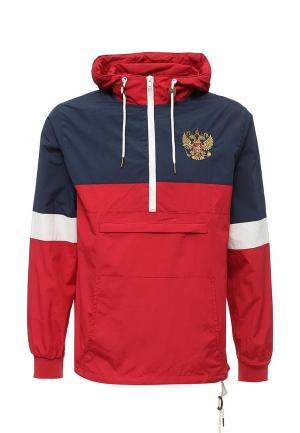 Ветровка Atributika & Club™ Россия. Цвет: красный