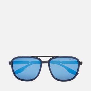 Солнцезащитные очки 50XS-02P04I-3N Prada Linea Rossa. Цвет: чёрный