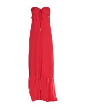 Длинное платье MANGANO. Цвет: красный