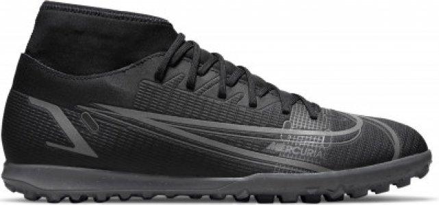 Бутсы мужские Superfly 8 Club Tf, размер 43 Nike. Цвет: черный