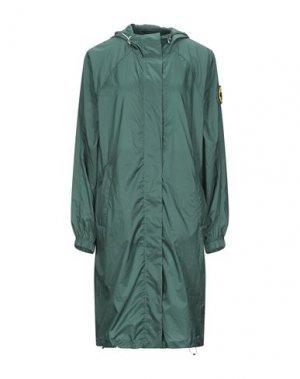 Легкое пальто CIESSE PIUMINI. Цвет: темно-зеленый