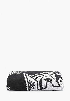 Полотенце Atributika & Club™ NHL Los Angeles Kings. Цвет: черный