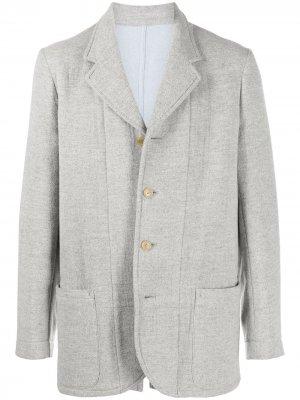 Пиджак Kirlik Walter Van Beirendonck Pre-Owned. Цвет: серый