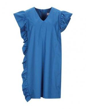 Короткое платье TWENTY EASY by KAOS. Цвет: синий
