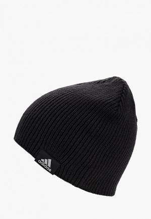 Шапка adidas PERF BEANIE. Цвет: черный