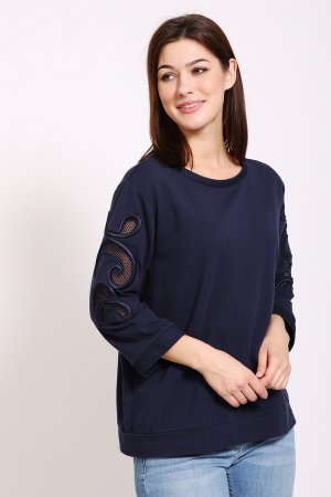 Пуловер Just Valeri. Цвет: синий