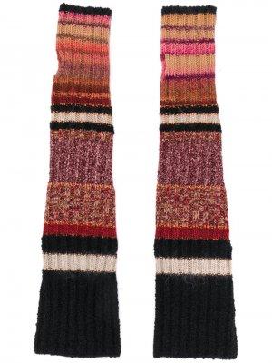 Длинные трикотажные перчатки Etro