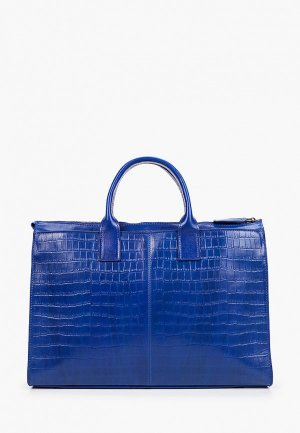 Портфель Alexander Tsiselsky. Цвет: синий