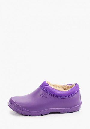 Галоши Ayo. Цвет: фиолетовый