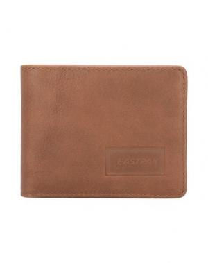 Бумажник EASTPAK. Цвет: коричневый
