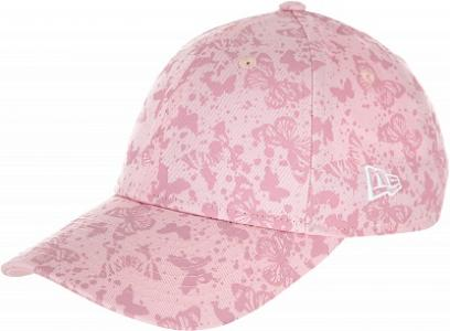 Бейсболка для девочек 229 9Forty, размер 54-55 New Era. Цвет: розовый