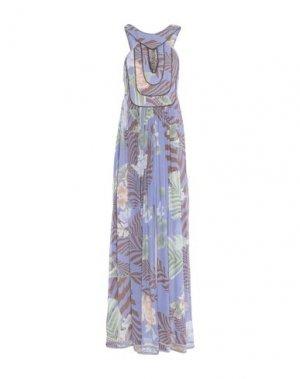 Длинное платье LEONARD Paris. Цвет: сиреневый