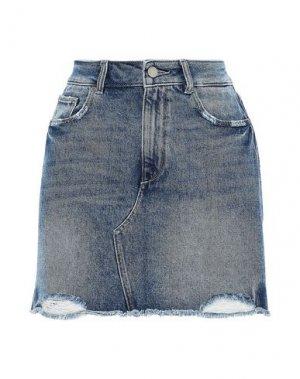 Джинсовая юбка DL1961. Цвет: синий