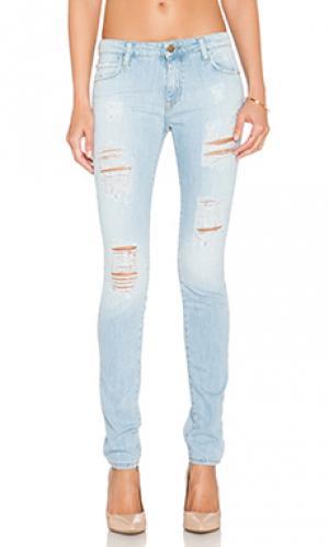 Узкие джинсы Acquaverde. Цвет: none