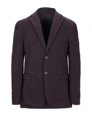 Пиджак QUOTA OTTO. Цвет: баклажанный