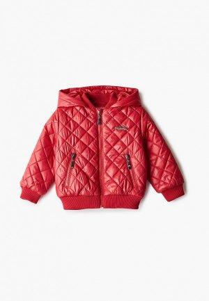 Куртка утепленная АксАрт. Цвет: красный