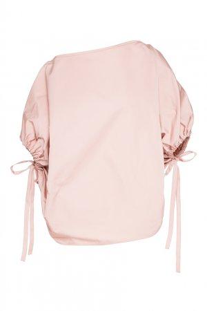 Блуза с цельнокроеными рукавами No.21. Цвет: розовый