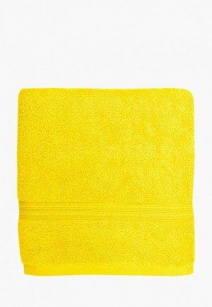 Полотенце Bonita 140x70. Цвет: желтый