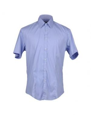 Рубашка с короткими рукавами BRIAN DALES. Цвет: сиреневый