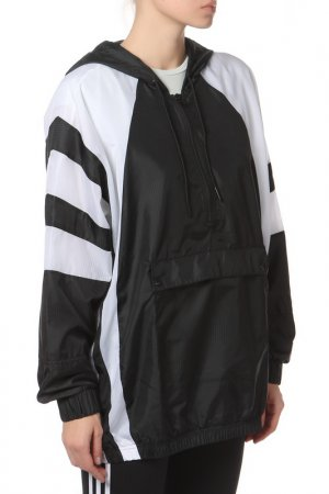 Ветровка adidas. Цвет: black