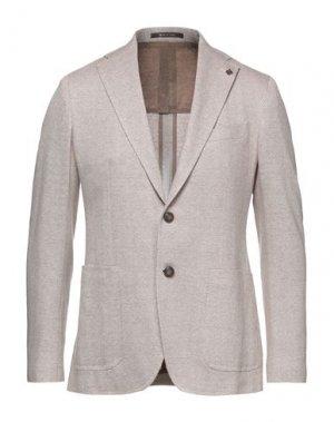 Пиджак TAGLIATORE. Цвет: хаки