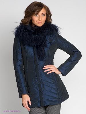 Пальто Coccapani. Цвет: темно-синий