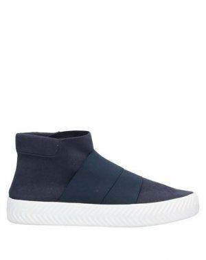 Высокие кеды и кроссовки FESSURA. Цвет: темно-синий
