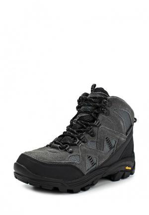 Ботинки трекинговые Gola Active. Цвет: серый
