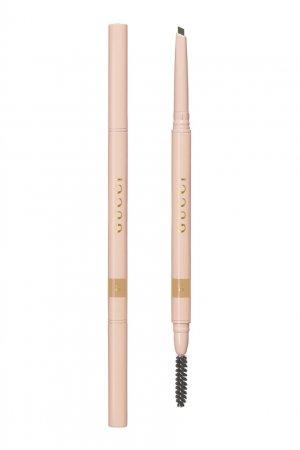 Stylo À Sourcils Waterproof – Водостойкий карандаш для бровей 01 Miel Gucci Beauty. Цвет: бежевый