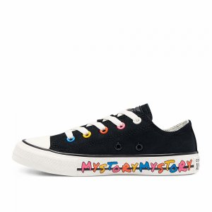 Chuck Taylor All Star My Story Low Top Converse. Цвет: черный