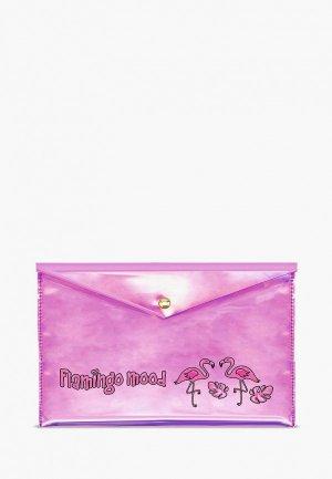 Папка Феникс+ Escalada. Цвет: розовый