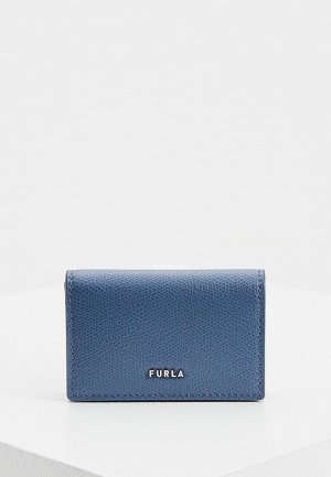 Визитница Furla MAN TRAVEL S CARD CASE. Цвет: синий