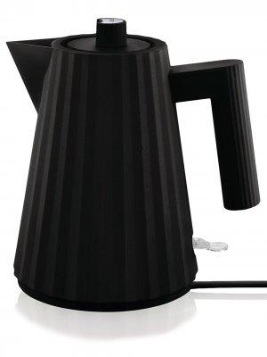 Электрический чайник с европейской вилкой Alessi. Цвет: черный