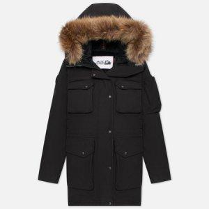 Женская куртка парка UMI Arctic Explorer. Цвет: чёрный